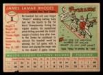1955 Topps #1  Dusty Rhodes  Back Thumbnail