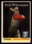 1958 Topps #466   Pete Whisenant Front Thumbnail