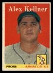 1958 Topps #3  Alex Kellner  Front Thumbnail