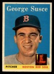 1958 Topps #189  George Susce  Front Thumbnail