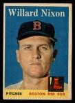 1958 Topps #395  Willard Nixon  Front Thumbnail