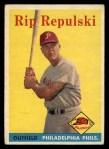 1958 Topps #14   Rip Repulski Front Thumbnail