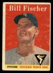 1958 Topps #56   Bill Fischer Front Thumbnail