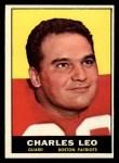 1961 Topps #180  Charles Leo  Front Thumbnail
