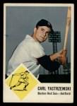 1963 Fleer #8  Carl Yastrzemski  Front Thumbnail