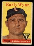 1958 Topps #100 WT  Early Wynn Front Thumbnail