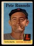 1958 Topps #265   Pete Runnels Front Thumbnail