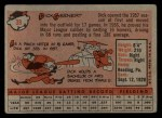 1958 Topps #38  Dick Gernert  Back Thumbnail