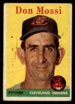 1958 Topps #35 WT Don Mossi  Front Thumbnail