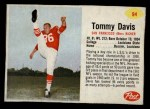 1962 Post #94  Tommy Davis  Front Thumbnail