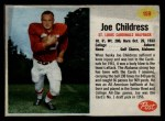 1962 Post #159  Joe Childress  Front Thumbnail