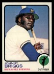 1973 Topps #71   Johnny Briggs Front Thumbnail