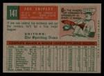 1959 Topps #141  Joe Shipley  Back Thumbnail