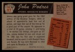 1955 Bowman #97   Johnny Podres Back Thumbnail