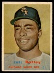 1957 Topps #401   Earl Battey Front Thumbnail