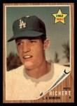 1962 Topps #131 GRN Pete Richert  Front Thumbnail