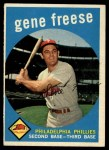 1959 Topps #472  Gene Freese  Front Thumbnail