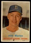 1957 Topps #376   Don Elston Front Thumbnail