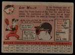 1958 Topps #66   Lee Walls Back Thumbnail