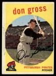 1959 Topps #228  Don Gross  Front Thumbnail