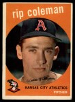 1959 Topps #51   Rip Coleman Front Thumbnail