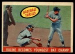 1959 Topps #463   -  Al Kaline Kaline Becomes Youngest Bat Champ Front Thumbnail