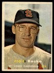 1957 Topps #363  Eddie Kasko  Front Thumbnail