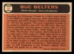 1966 Topps #99  Buc Belters  -  Willie Stargell / Donn Clendenon Back Thumbnail
