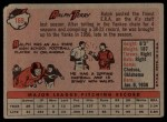 1958 Topps #169  Ralph Terry  Back Thumbnail