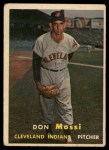 1957 Topps #8  Don Mossi  Front Thumbnail