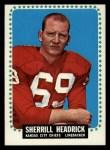 1964 Topps #99  Sherrill Headrick  Front Thumbnail
