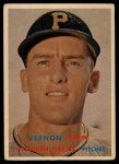 1957 Topps #199   Vern Law Front Thumbnail