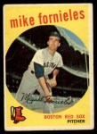 1959 Topps #473  Mike Fornieles  Front Thumbnail