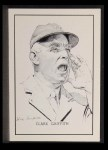 1950 Callahan Hall of Fame #35  Clark Griffith  Front Thumbnail