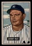 1951 Bowman #50  Johnny Mize  Front Thumbnail
