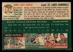 1954 Topps #147   John Riddle Back Thumbnail