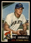 1953 Topps #222   Vic Janowicz Front Thumbnail