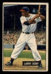 1951 Bowman #151   Larry Doby Front Thumbnail