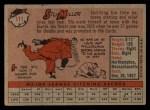 1958 Topps #111  Stu Miller  Back Thumbnail