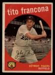 1959 Topps #268  Tito Francona  Front Thumbnail