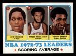 1973 Topps #154   Nate Archibald / Kareem Abdul-Jabbar / Spencer Haywood Front Thumbnail