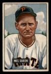 1951 Bowman #309   Mel Queen Front Thumbnail