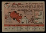 1958 Topps #222   Bud Daley Back Thumbnail