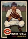 1953 Topps #252  Hank Foiles  Front Thumbnail