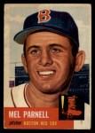 1953 Topps #19  Mel Parnell  Front Thumbnail