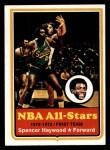 1973 Topps #120   Spencer Haywood Front Thumbnail