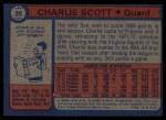 1974 Topps #35  Charlie Scott  Back Thumbnail