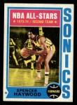 1974 Topps #70  Spencer Haywood  Front Thumbnail
