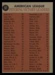 1962 #57   -  Whitey Ford / Frank Lary / Steve Barber / Jim Bunning AL Win Leaders Back Thumbnail