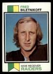 1973 Topps #320   Fred Biletnikoff Front Thumbnail